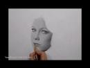 Аврил Лавин - портрет карандашом