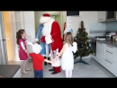 Дед Мороз и Снегурочка в гостях у Вари и Степы(часть 1)