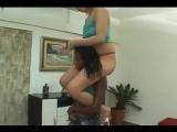 shoulder-ride the ponygirl