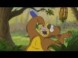 Заставка к новой серии Симпсонов в классической анимации Disney