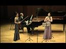 G. Menotti: Trio for clarinet, violin and piano (Jaehee Choi/ 최재희/ 이경선/ 빈센트 드 브리스)