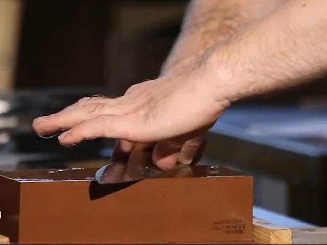 Мастер-класс по заточке ножей на водных камнях. Часть 2. Техника заточки. Как удер...