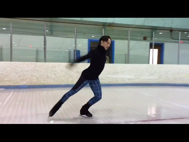 Johnny Weir Edge Work Sequence for 'Art2Skate' at the Skating Club of Wilmington