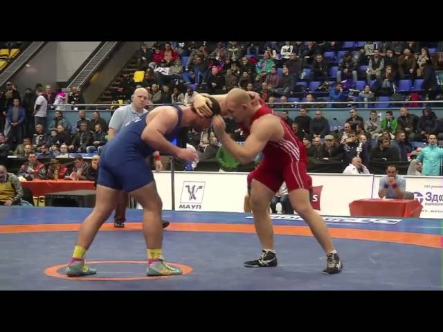 125 кг _ Александр Хоцяновский (Украина) - Ален Засеев (Украина) _ 1/2 финала