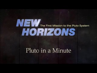 Pluto in a Minute: Evidence of Possible Frozen Volcanoes