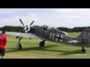 Focke Wulf FW 190 Closeups GREAT SOUND Airshow Germany 2010