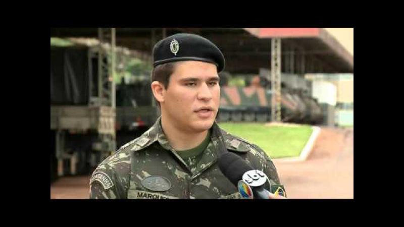Militares do Exército são treinados para o combate contra o aedes aegypti