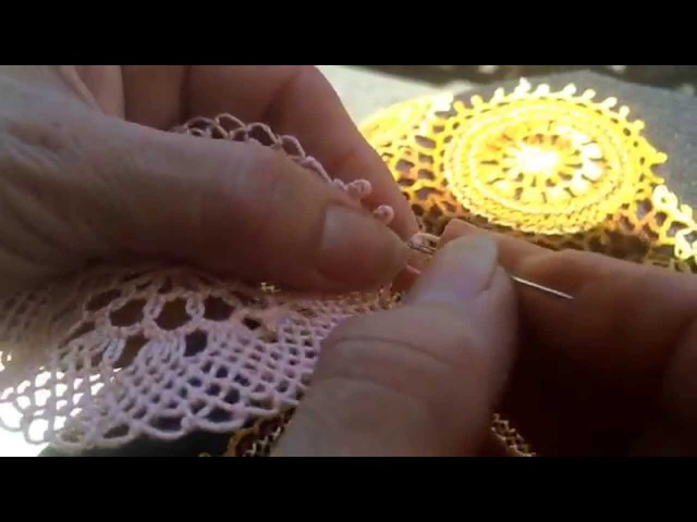 How to do Needle Lace Part 8 8
