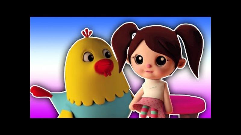 Мисс попка была куколку | Российские дети песни | Miss Polly Had a Dolly | Nursery Rhyme
