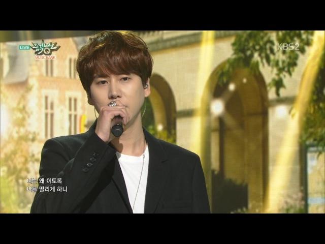 KYUHYUN 규현_'밀리언조각(A Million Pieces)'_KBS MUSIC BANK_2015.10.30