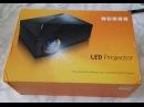 GM60 Домашний проектор 1000Lm HDMI VGA AV USB SD