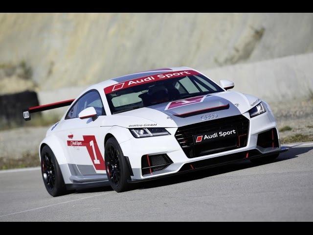 Audi TT Cup 2016 Audi Sport на скоростной трассе