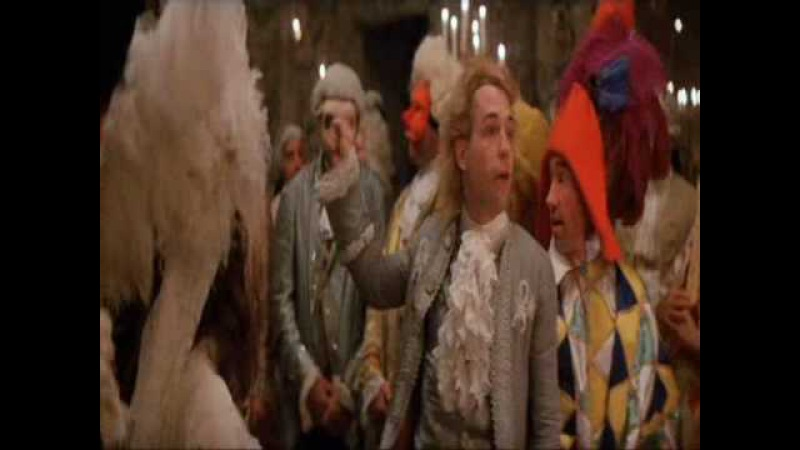 Amadeus - God was laughing at me.