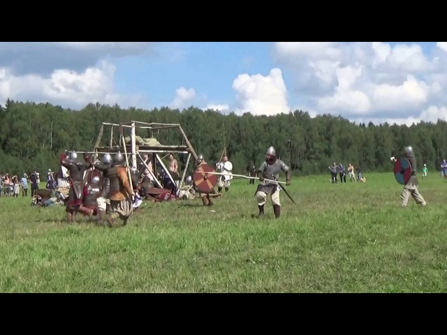 реконструкция боя в Древней Руси, Воиново поле-2016