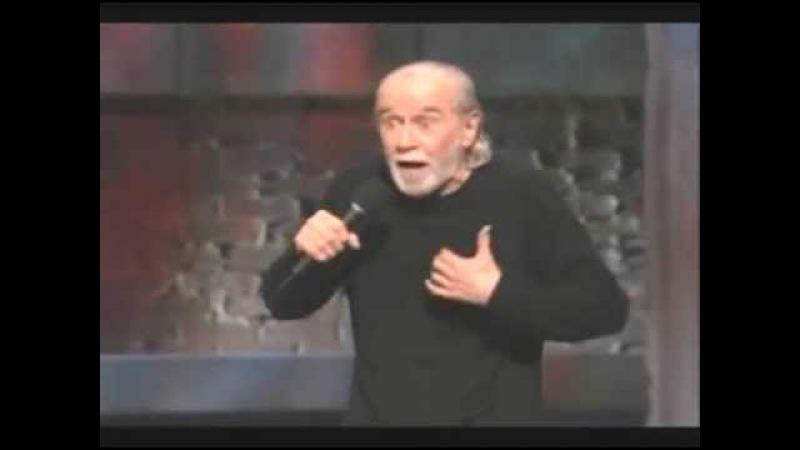 Стендап шоу. Джордж Карлин видео про воспитание детей. Выступление Джо Карлина с...