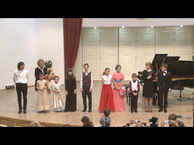 Фортепианный вечер класса Марченко М.А. (ЦМШ)