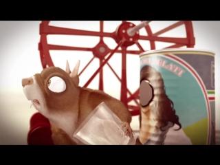Прикольный Мультик про Хомяка - Да Будет Колесо! - смешной мультфильм