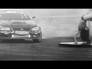 Japan car fest 2015 drift&dance