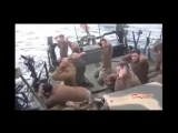 Moment Iran IRGC captured the USA navy sailors