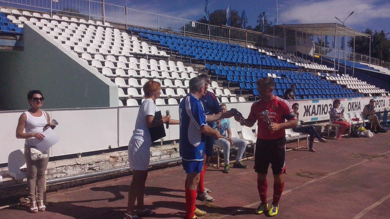 На выходных в Таганроге состоялся турнир по мини-футболу среди организаций города