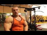 Тренировка спины. Советы по набору массы. А. Щукин. спорт.