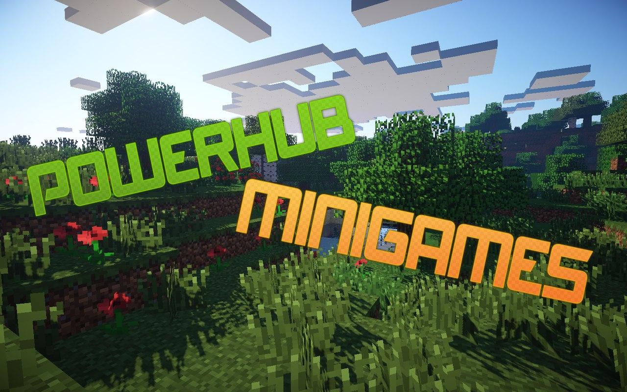 ����� ������ Minecraft + MiniGames 1.7.X - 1.8.X