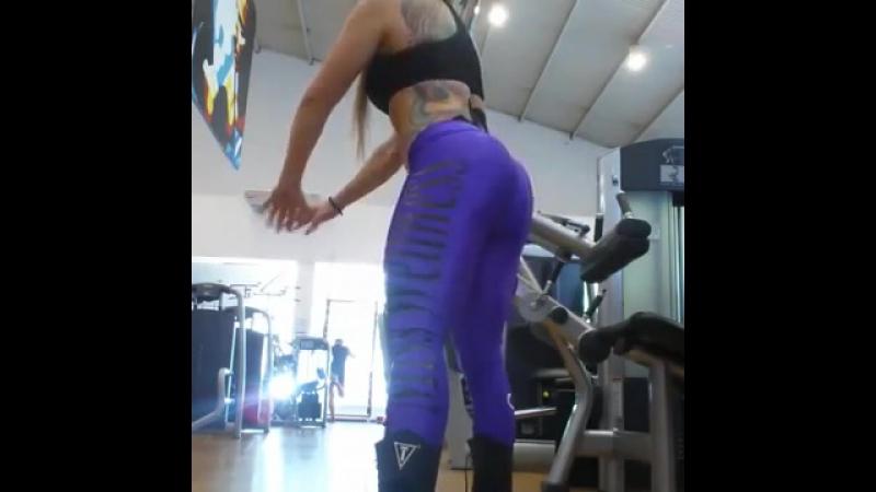 Geisa Vitorino тренировка