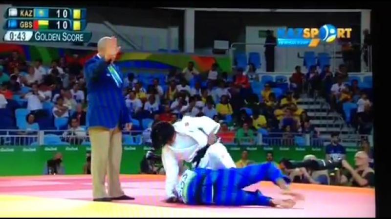 Қазақстанның тағы бір спортшысы Олимпиаданы жеңісті сәтпен бастады