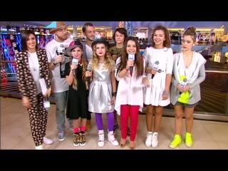 Детская Партийная Зона с Яной Рудковской на МУЗ-ТВ (24 января 2016)