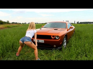 ЛТКиК Dodge Challenger Twerk Hot blonde Part 1