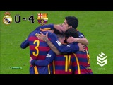 Real Madrid vs Barcelona 0-4