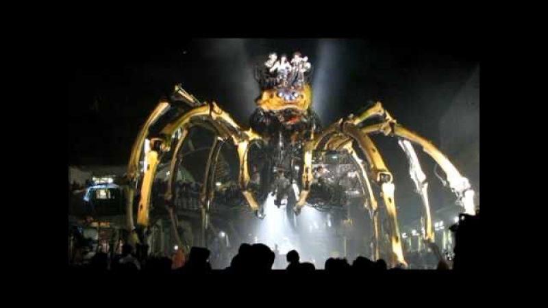 L' araignée Kumo l' invitée La Machine @ Le Channel Calais Libertés de Séjour