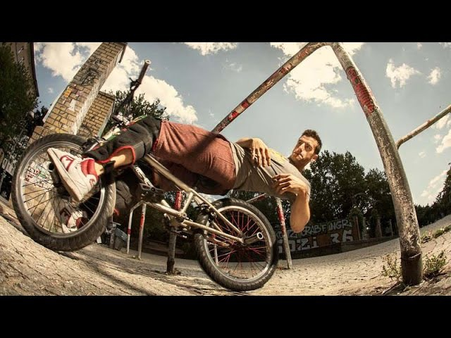 BMX Meets Parkour Unthinkable Bike Tricks with Tim Knoll