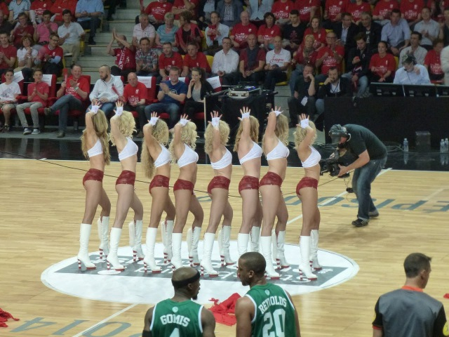 ReD Foxes performance at the LNB Finales 2014 in Strasburg