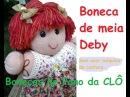 Boneca de meia Deby