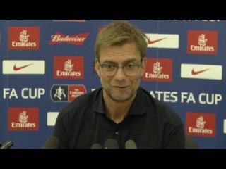 West Ham vs. Liverpool (FA Cup Replay): Jurgen Klopp's pre-match press conference