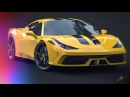 Ferrari 458 Speciale   3Ds Max Timelapse