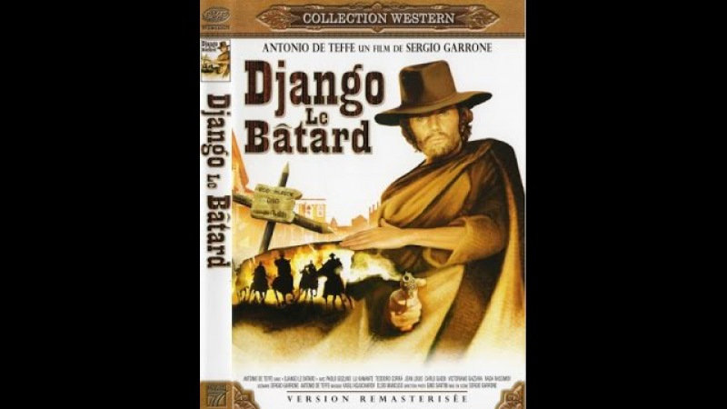 Ублюдок Джанго Django The Bastard Django il bastardo 1969 Вестерн смо