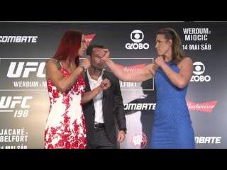 UFC 198: Media Day Faceoffs