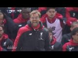 Эмоции Клоппа на матче Ливерпуль - Арсенал