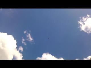 Истребители над Шполой 31.08.2016