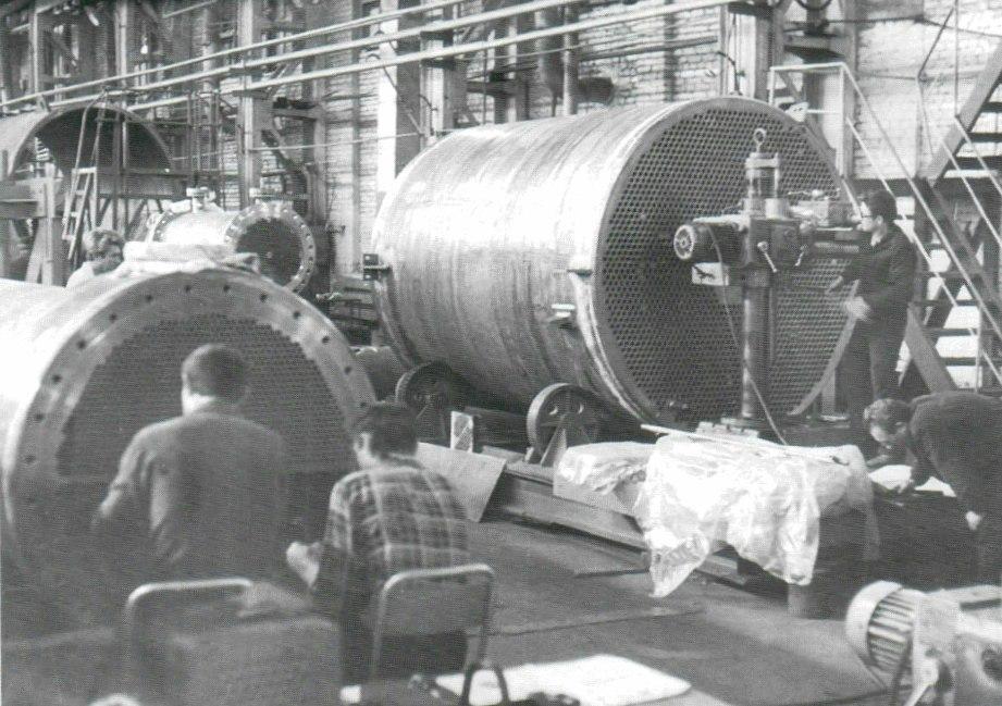 советский период «Красный котельщик»_изготовление изделий для АЭС