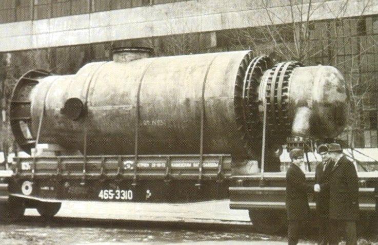 советский период«Красный котельщик»_отгрузка первого ПНД-1600