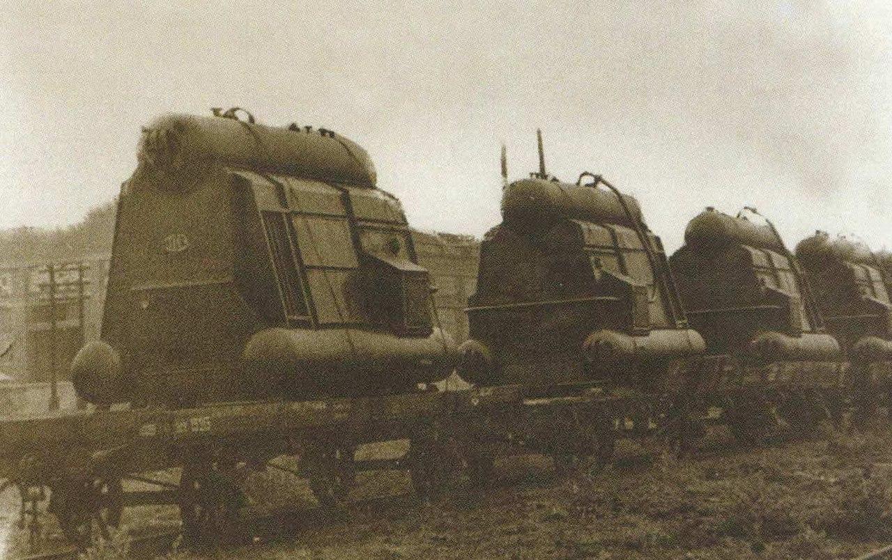 первые послевоенные трехбарабанные котлы «Красный котельщик»