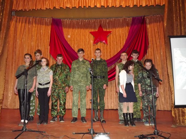Зеленчукская молодежь не забывает песни военных лет