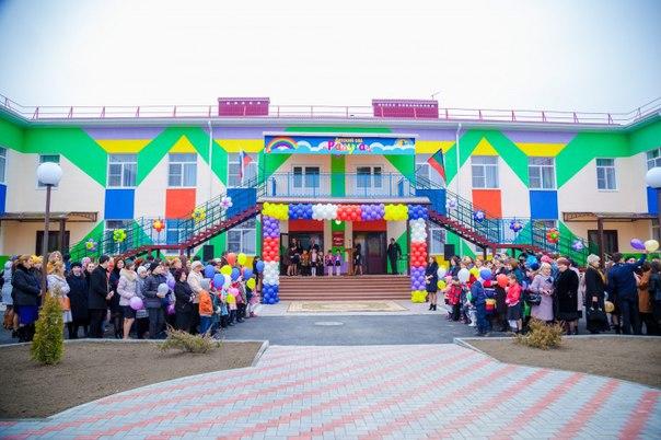 В Прикубанском районе открылся новый детский сад «Радуга»