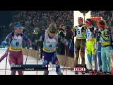 Биатлон - Рождественская гонка 2015 - Biathlon World Team Challenge 2015 - 28.12.2015 HD