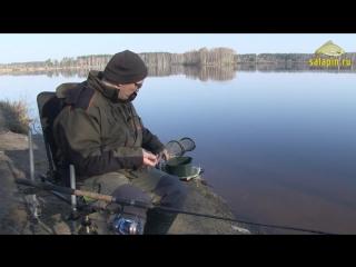 Ловля карпа на фидер ранней весной. Егорьевский рыбхоз. [salapin.ru]