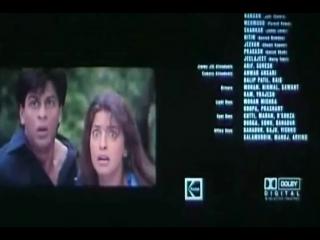 PHIR BHI DIL HAI HINDUSTANI-BLOOPERS-End Movie Shah Rhuh Khan