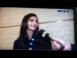 A sneak peak to the interview of @sonamakapoor on PTC News